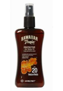 HAWAIIAN TROPIC Loción de bronceado OIL - Spray 200ml SPF20